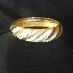 Vintage Givenchy Gold Bangle/Bracelet